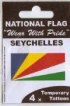 Seychelles Country Flag Tattoos.